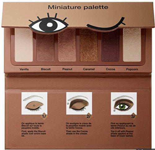 Paleta Miniatura de la Colección Sephora: paleta de sombras de ojos de mini sombra de galletas