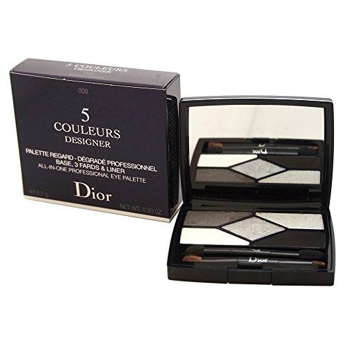 Paleta de sombras de ojos Christian Dior 5 Couleurs, 008 Diseño ahumado, 6 g