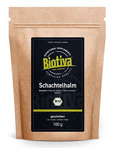 Cola de caballo orgánica - 100 g - tisana orgánica - cola de caballo - rasperella - Equisetum arvense - de máxima calidad - remedio para infecciones leves del tracto urinario