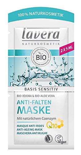 Lavera Basis Sensitiv Máscara antiarrugas Q10 - 10 ml.