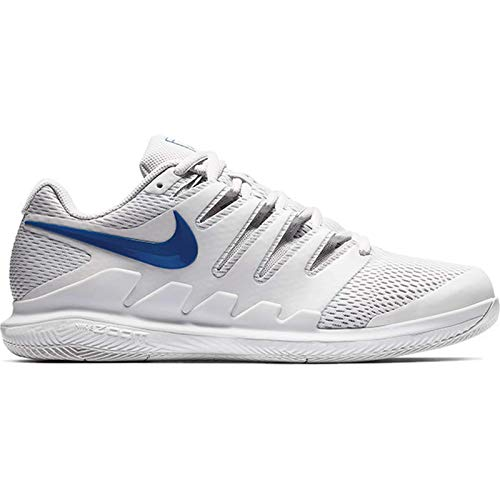 Zapatos de tenis Nike Air Zoom Vapor X HC para hombre, multicolor (gris vap / Indigo Force / Indigo Force 044), 45 EU