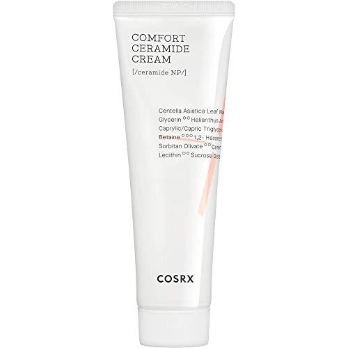 Crema de ceramida COSRX Balancium Comfort, 2,82 fl oz, Refuerza la barrera de la piel, crema ligera, Hidratante, Calma