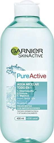 Garnier Pure Active Mat Control Water Micelar tratamiento facial - 400 Ml