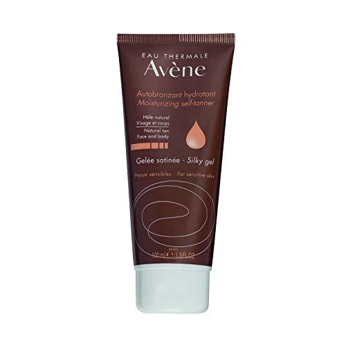 Eau Thermale Avène Gel hidratante facial para el cuerpo y el cuerpo, efecto seda, 3,3 fl.  oz