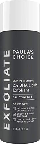 Paula Choice Exfoliante facial para la piel que perfecciona el 2% de BHA - Peeling combate los grandes, poros ampliados y puntos negros - con ácido salicílico - combinación o ...