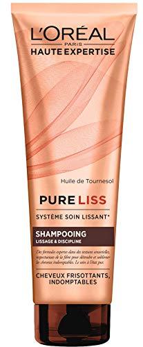 L'Oréal Paris, Pure Liss, champú suavizante y disciplinando, 250 ml