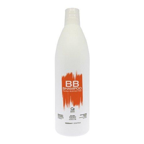 BB Hair Care - Champú a la queratina - Producto profesional ideal para cabellos tratados y debilidades - Reparador y revitalizante - 1 L