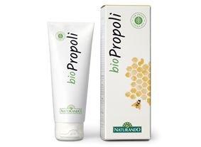 NATURANDO BIOCREMA propóleos 75ml Crema orgánica curativa y desinfectante contra el acné, erupciones cutáneas, quemaduras, heridas