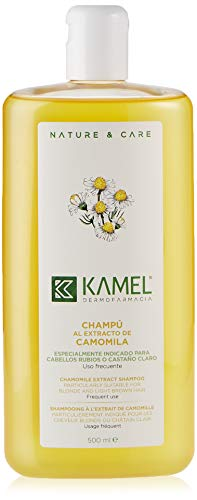 Champú Kamel con extracto de manzanilla, 500 ml