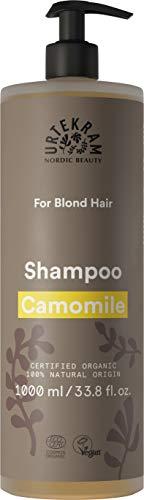 Champú orgánico Urtekram Chamomile, cabello rubio, 1000 ml