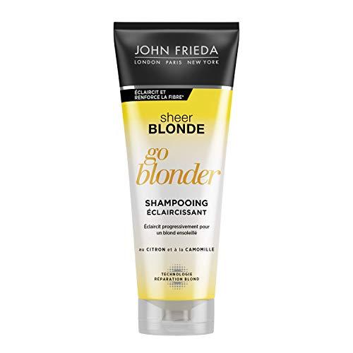 John Frieda, Sheer Blonde Go Blond, champú esclarecedor, 250 ml