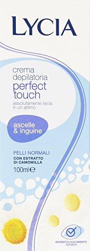 Licia - Crema depilatoria para las axilas y la ingle, piel normal - 100 ml