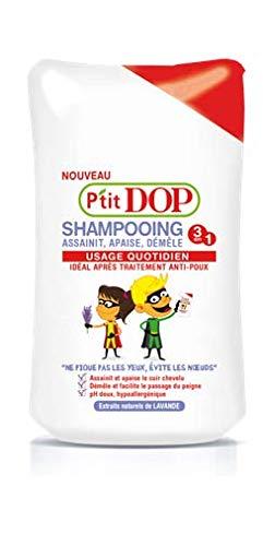P 'tit DOP - Champú después del tratamiento anti-piojos - 250 ml - Juego de 3