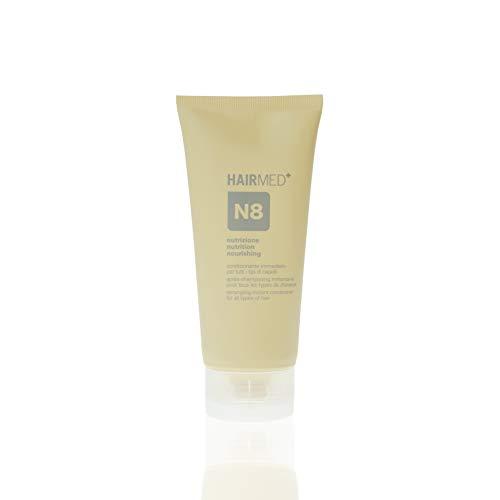 HAIRMED - Acondicionador de cabello profesional N8 - Acondicionador para el cabello desenredante con colágeno - 200 ml