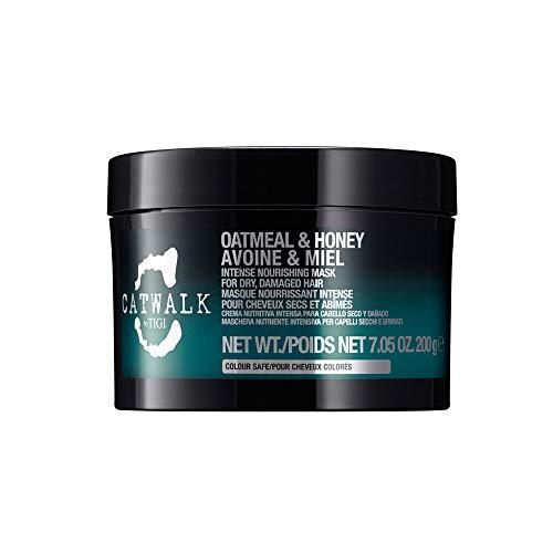 Máscara nutritiva intensiva TIGI Catwalk Oatmeal & Honey, para cabellos secos y dañados, 200 gr