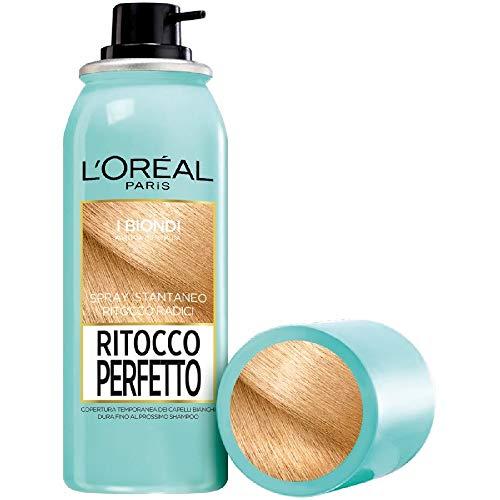 L'Oréal Paris Perfect Touch Touch, corrector instantáneo para raíces y canas, color: rubio, 75 ml
