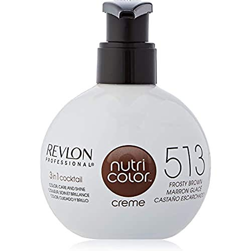 Crema de color castaño Revlon Nutri
