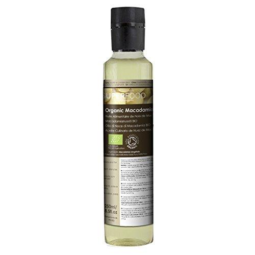 Aceite comestible de frutos secos de macadamia - 100% natural - 250 ml
