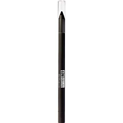 Maybelline New York Tattoo Liner, lápiz de ojos gel con efecto tatuaje, impermeable y con capacidad para 36h, 900 ónix profundo