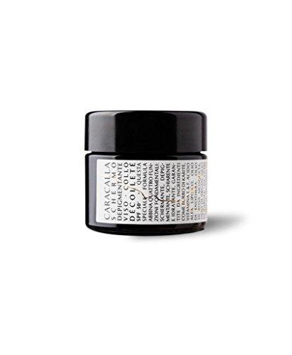 Caracalla Luxury Edition- Crema de pantalla despigmentante - Cara, cuello, Decollete SPF 50+ - Anti-manchas, iluminación e hidratación - Manteca de Karité, vitaminas E y F, ...