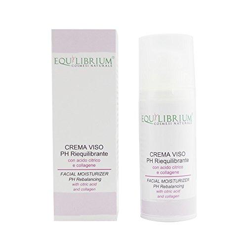 EQUILIBRIO - COSMÉTICOS NATURALES PH crema reequilibrando de la cara 50 ml con ácido cítrico y colágeno