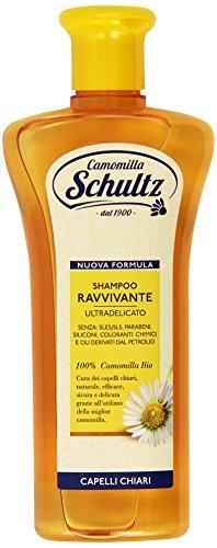 Schultz - Champú revitalizante, ultra suave, 100% orgánico de manzanilla - 250 ml