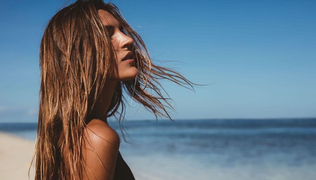Proteja el pelo al mar