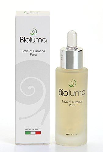 Bioluma Pure Snail Slime 30ml 100% Hecho en España para la cara del cuello Decollete Cuerpo Excelente Hidratante Suavizante Antiage Purificador Normalizando Adyuvante ...