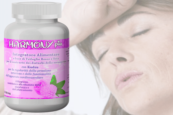 suplemento de armonía más la menopausia