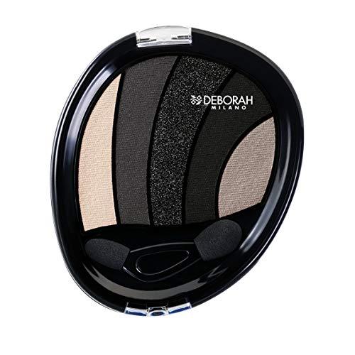 Deborah Milano Perfect Smokey Eye Palette N.03, Negro ahumado