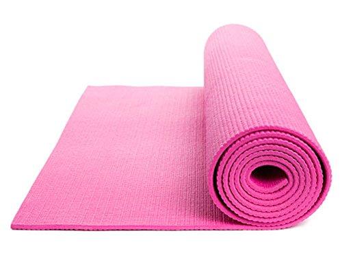 DOBO® Mat Mat Yoga Mat Aerobic abdominal Gimnasio Gimnasia Pilates antideslizante (rosa)