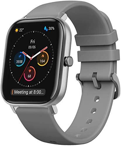 Reloj inteligente Amazfit GTS SmartWatch Fitness 5 ATM de batería impermeable hasta 14 días con GPS, 12 modos de entrenamiento, pantalla de marcado ...