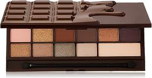Paleta de maquillaje Makeup Revolution I Heart con sombras de ojos - Wonder Palette - Death by Chocolate