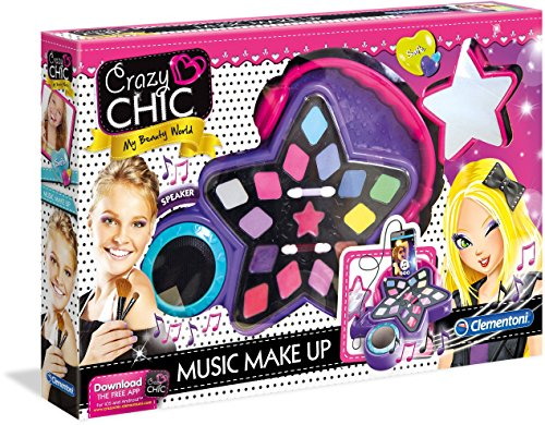 Clementoni 15137 - Crazy Chic - Maquillaje musical